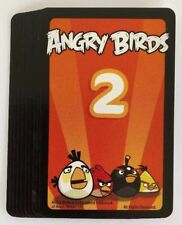 +Angry Birds Knock on Wood Game 10 Orange Mission Cards Replacement Parts Pieces