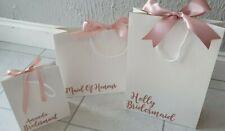 Bridesmaid Gift, Gift Bag. Personalised gift, Wedding Bag, bridesmaid