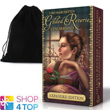 GILDED REVERIE LENORMAND ORACLE DECK CARDS CIRO MARCHETTI WITH VELVET BAG NEW