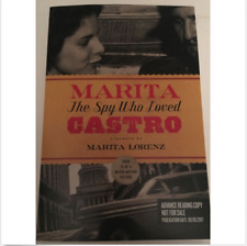 Marita: The Spy Who Loved Castro by Marita Lorenz ARC NEW CUBA FIDEL