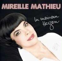 """MIREILLE MATHIEU """"IN MEINEM HERZEN"""" CD NEUWARE"""