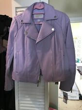 Michael Michael Kors Leather Moto Jacket, NWT,XS. orig$425 Beautiful!