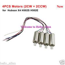 4PCS CW CCW Motor Engine Set for Hubsan X4 H502S H502E RC Quadcopter Spare Parts