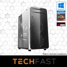 Quad Core | AMD Ryzen 3 3200G | RX 580 8GB Gaming PC Desktop Computer
