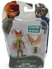 Disney Zootropolis Character Figure Pack - Nick and Finnick  *BRAND NEW*
