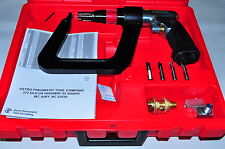 """Astro Air Spot Drill 500 Rpm with 5.5"""" deep Clamp kit with 5 Drill bits."""