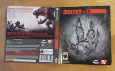 Evolve Xbox One Video Game Cover Art