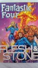 Marvel Comics FLESH & STONE Graphic Novel Comic Book EXCELLENT 1st Printing 2001