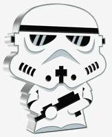 Stormtrooper Star Wars Chibi 1 Oz Silver Coin 2$ | Niue 2020 *** NEW ***