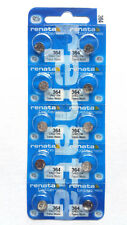 10x Renata 364/sr621sw Watch Battery. Exp 07/2020 Swiss Made Post From Melbourne