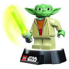 LEGO oficial Star Wars Yoda LED Lámpara Mesilla Linterna - lámpara Maestro Jedi