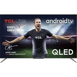 """TCL 65C715K 65"""" QLED 4K Ultra HD Smart Android TV"""