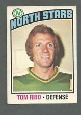 1976-77 OPC O-Pee-Chee Hockey Tom Reid #123 Minnesota North Stars EX/MT *1