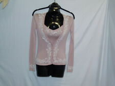 2 Pc Set of Cardigan & Camisole by Collette Dinnigan Sz xs