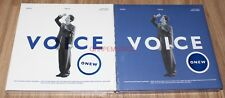 ONEW SHINEE 1ST ALBUM VOICE K-POP 2 VERSION CD + PHOTO CARD + 2 POSTER IN TUBE