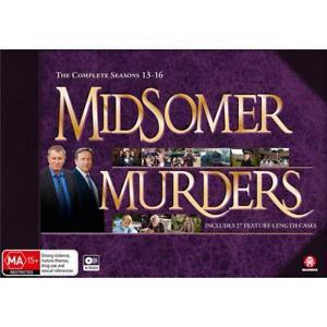 Midsomer Murders Series Season 13, 14, 15 & 16 DVD Box Set16-Disc Set R4