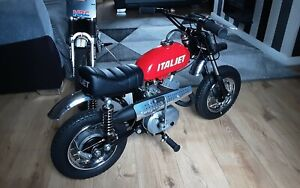 1974 italjet mm5a mini mini bambino 50 classic kids motorcycle mini monkey bike