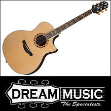 Crafter GAE18CD Grand Auditorium Cedar Top Nat Gloss Electro Acoustic RRP$1399