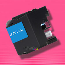 1 CYAN INK for Brother LC203XL LC203 LC203C LC203XLC MFC-J5520DW J880DW J885DW