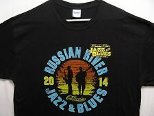 RUSO River JAZZ & Azules Festival - California - 2014 - TALLA MEDIANA Camiseta