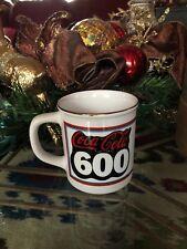 Vintage Nascar Coca-Cola 600, Charlotte Motor Speedway Coffee Mug