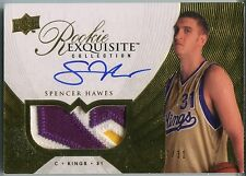 2007-08 Exquisite Gold Parallel SPENCER HAWES Auto Patch RC Rare /31 BGS RCR 8.5
