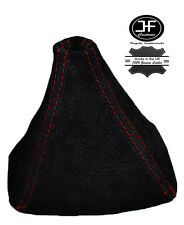 RED STITCH REAL SUEDE GEAR GAITER SHIFT BOOT FITS HONDA S2000 1999-2009