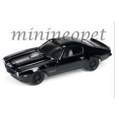 JOHNNY LIGHTNING JLCP7121 B BLACKED OUT 1973 PONTIAC FIREBIRD TRANS AM 1/64 BK
