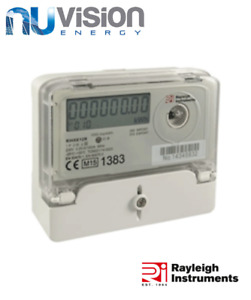 10 x Rayleigh SINGLE PHASE 100A 1000 pulse/kWh OFTEC GENERATION METER IP51