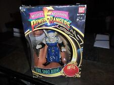 "1993 MIGHTY MORPHIN Power Rangers EVIL SPACE ALIENS 8"" FINSTER FIGURE BANDAI BOX"