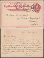 Brazil 1913 - Postal stationary to Brussels-Belgium ...(EB) MV-4233