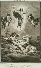 Transfiguration Christi, Bibelillustr. um 1820, Kupferstich