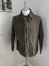 BARBOUR Leedale Waxed Jacket Brown Size Medium ( bedale beaufort)