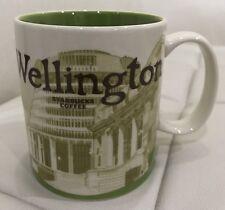 New Zealand Starbucks Wellington City Mug Global Series 16 oz with SKU Authentic