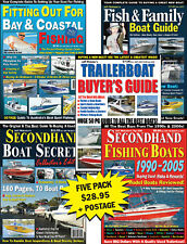 Trailerboat Buyer's Guides Five Pack: Reviews on Quintrex, Savage, Haines Hunter