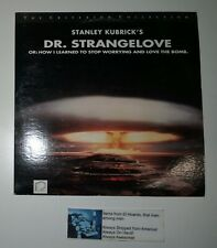 Dr. Strangelove Stanley Kubrick The Criterion Collection Cav Laserdisc Very Good