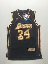 Kobe Bryant Los Angeles Lakers 24 BLACK NBA Basketball Swingman Jersey shirt