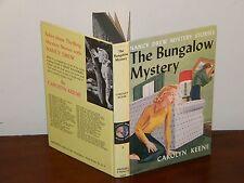 Vintage Nancy Drew #3 The Bungalow Mystery Matte PC Blue Endpapers Carolyn Keene