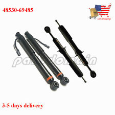 48530-69485 NEW BOTH LEFT + RIGHT FRONT & REAR SHOCKS FOR LEXUS GX470 4.7L