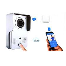 WiFi Wireless Wired Phone Visual Intercom Doorbell IR Night Version Video Camera