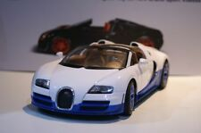 Rastar Bugatti Veyron 16.4 Grand Sport White 1:18 Scale Diecast