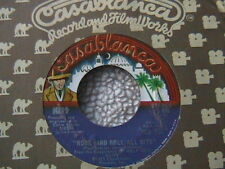 """KISS """"ROCK AND ROLL ALL NITE (LIVE)"""" / """"ROCK AND ROLL ALL (STUDIO)"""" 7"""" 45"""