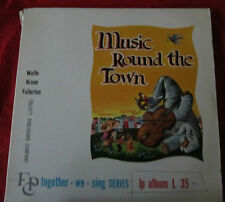 Music Round the Town record Together We Sing Series L35 L 35 vintage LP vinyl