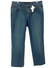 Lane Bryant Jeans Size 16 Avg Medium Stretch Denim 36 X 30 Straight Leg Venezia