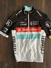 Team Radioshack Gabba Rain Jersey Rider Issued Tour De France Armstrong