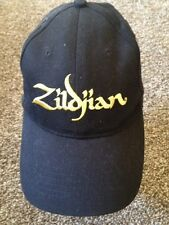 Zildjian  Baseball Cap Hat Adjustable Black100% Cotton GXN