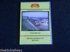 Dawlish Sea Wall, Paddington, Diesel Hydraulic Heyday, B & R Volume 167 DVD