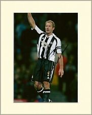 ALAN SHEARER NEWCASTLE UNITED FC PP 10X8 MOUNTED SIGNED AUTOGRAPH PHOTO