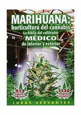 Marihuana: horticultura de cannabis - la biblia del cultivador ... Free Shipping