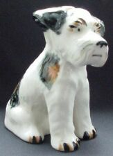 Wonderful Large Terrier Dog Black Tan White Made Japan